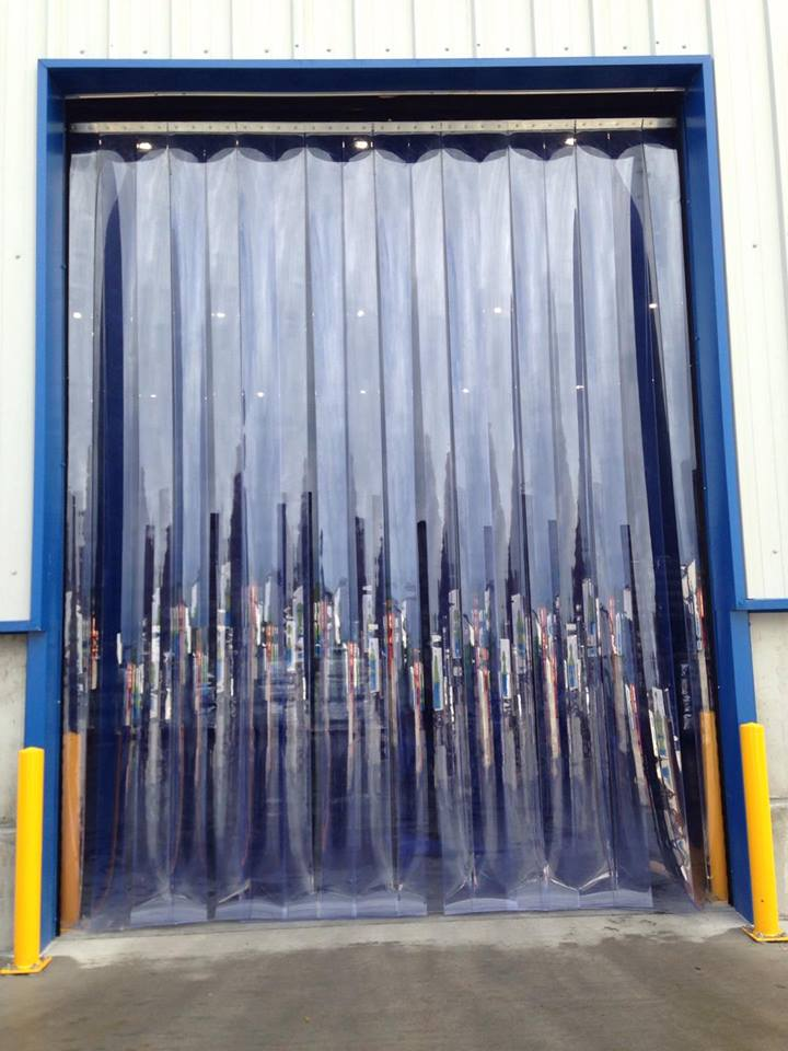Plastic Fly Screens in Processing Plant